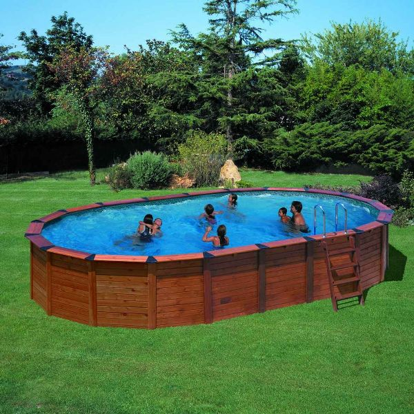 Kit piscine semi enterr e bois prix france - Piscine enterree en kit ...