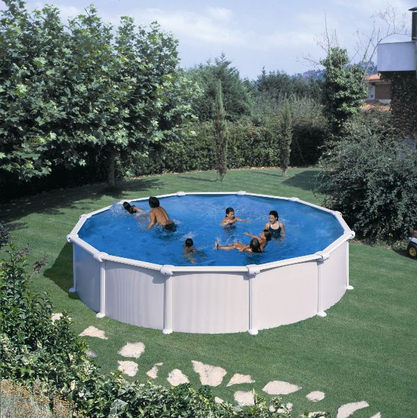 Piscines for Piscine semi enterree